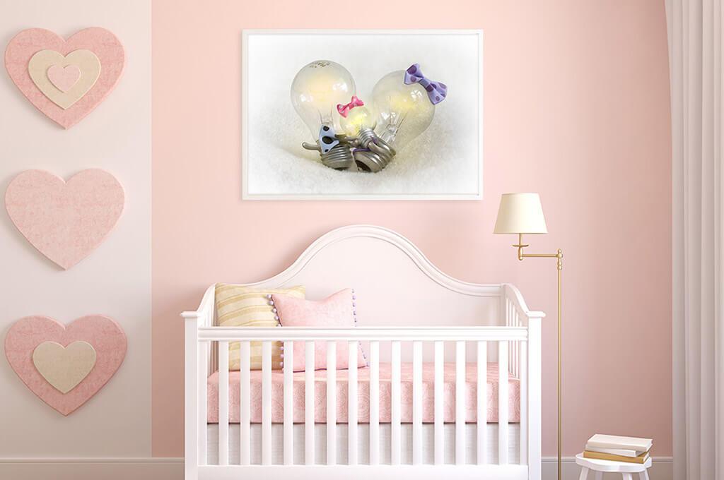 Baby Bulb Print