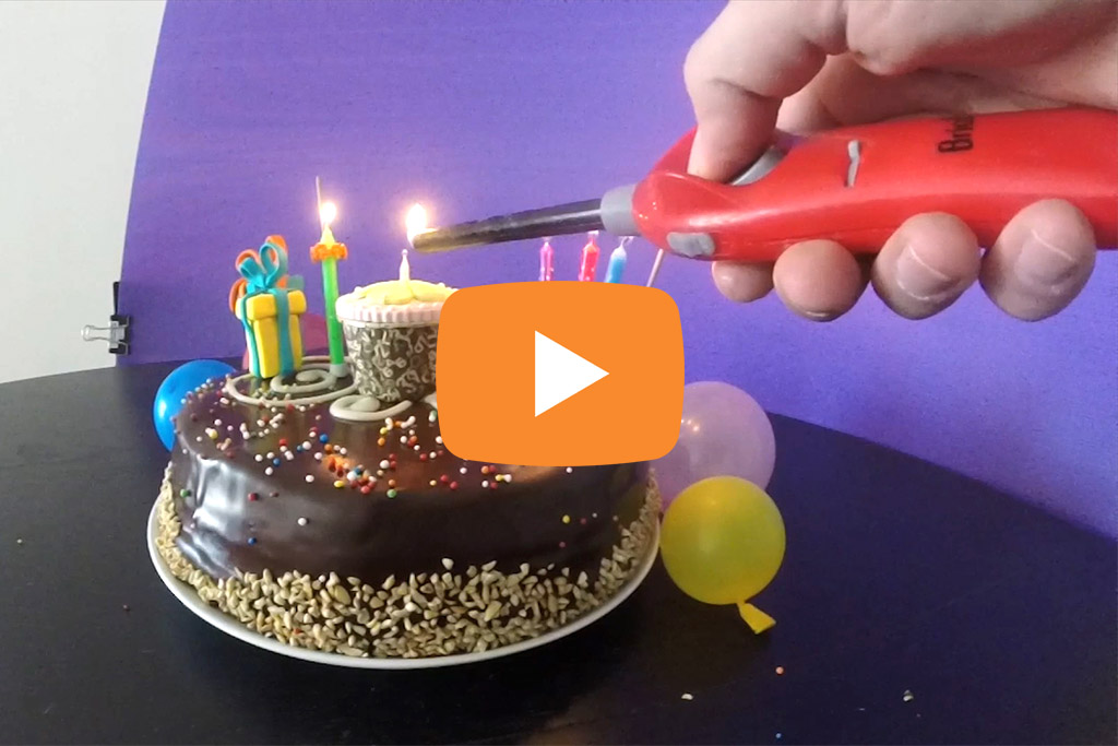 Candle's Birthday Video 1