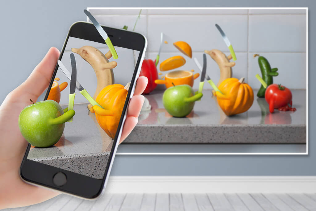 Food Fight! Augmented Reality