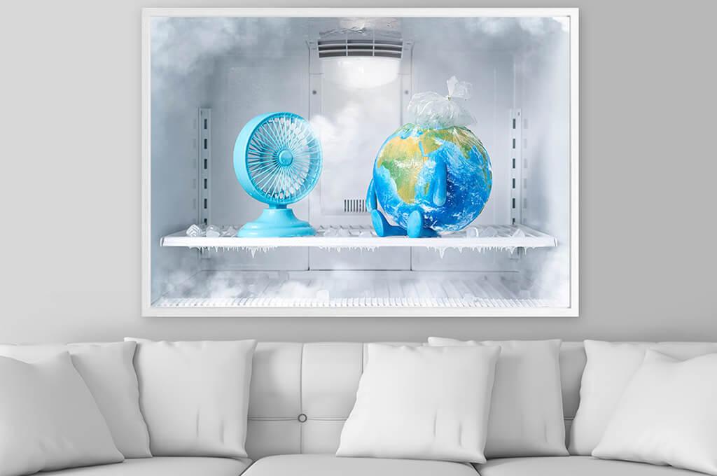Global Cooling Print