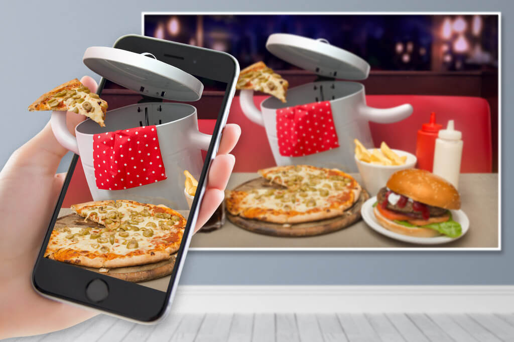Junk Food Augmented Reality